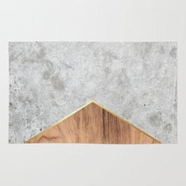 Concrete Arrow Wood #345 Rug