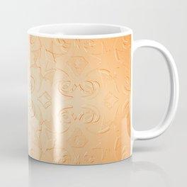 Hepburn in Coral Coffee Mug