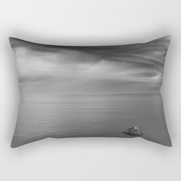 Alone Before The Storm Rectangular Pillow