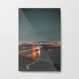 San Francisco : History on the Horizon Metal Print