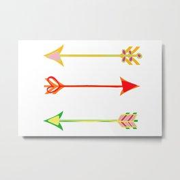 Arrow minded Metal Print