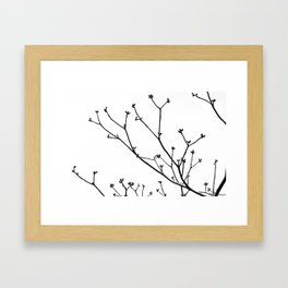 Three Framed Art Print