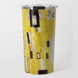 The Kiss, Gustav Klimt Travel Mug