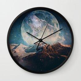 Lake Moon Wall Clock
