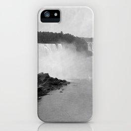 Vintage Niagara Falls - 1890 iPhone Case