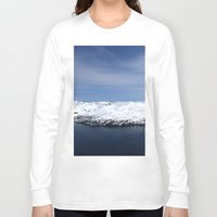 alaska Long Sleeve T-shirts featuring Whitter, Alaska by Chris Root