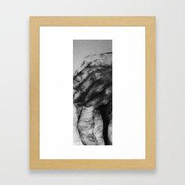 Supporting hand Framed Art Print