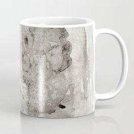 Abstract Painting Grayscape Coffee Mug