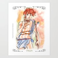 Onew is Faun Art Print