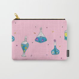 Flower Bottles Carry-All Pouch
