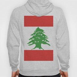 Lebanon flag emblem Hoody