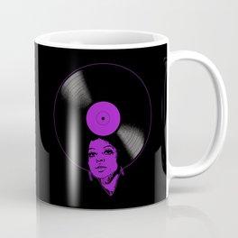 Afrovinyl (Purple) Coffee Mug