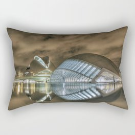 Valencia at Night Rectangular Pillow
