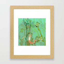 LuLu and the Turtles by Sarah Kiser Framed Art Print