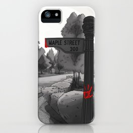 The Twilight Zone iPhone Case