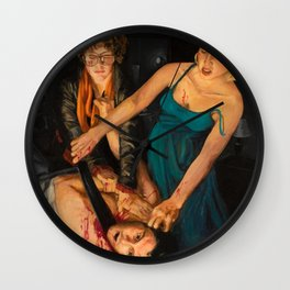In the Mourning Wall Clock