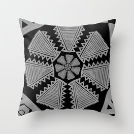 tripped Throw Pillow