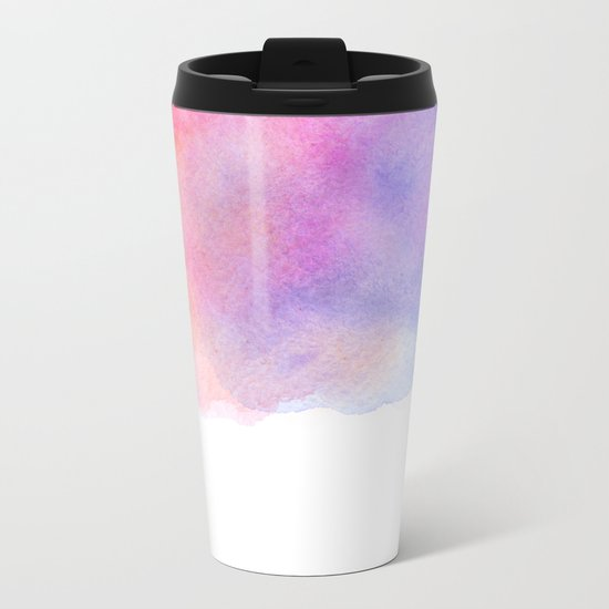 Watercolour Metal Travel Mug