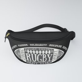 Rugby values Fanny Pack