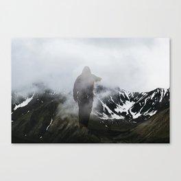 Seeking, Striving Canvas Print