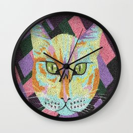 Peeping Putty Tat Wall Clock