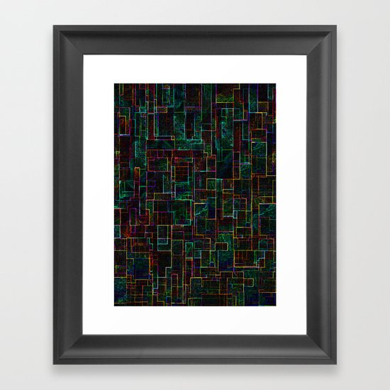 Matrix Framed Art Print
