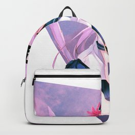 CAT GIRL NEKO PINK - SAD JAPANESE ANIME AESTHETIC Backpack