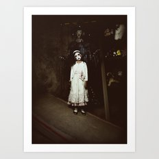 Ghost Girl Art Print
