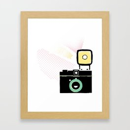 Say cheese, gorgeous! Framed Art Print