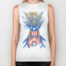 Capt. America Biker Tank