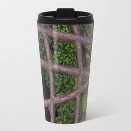 Mossy Grate at St. Michael's Mount Travel Mug