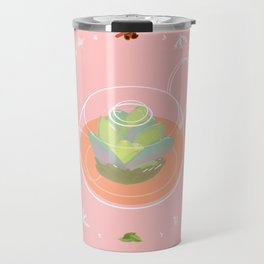Tea Pot Succulent Travel Mug