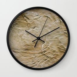 Sand + Water Wall Clock