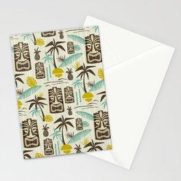 Island Tiki - Tan Stationery Cards