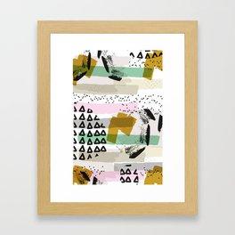 A celebration! Framed Art Print