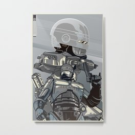 Uphold The Law 2 Metal Print
