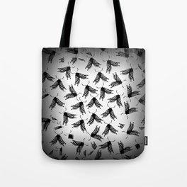 Moth swarm Tote Bag