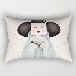 Silent beauty Rectangular Pillow