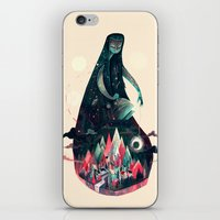 kpop iPhone & iPod Skins featuring Night Time. by Karl James Mountford
