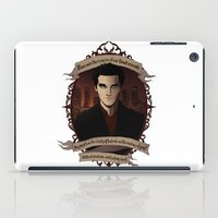 buffy the vampire slayer iPad Cases featuring Angel - Angel/Buffy the Vampire Slayer by muin+staers