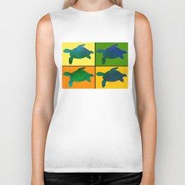 Tiled Turtles Biker Tank