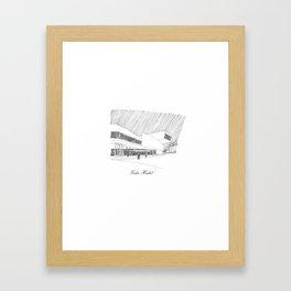 Zaha Hadid Framed Art Print