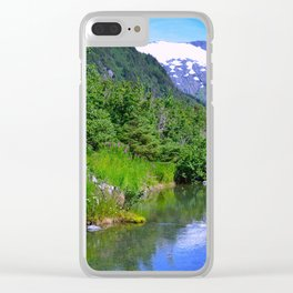 Valley Stream Clear iPhone Case