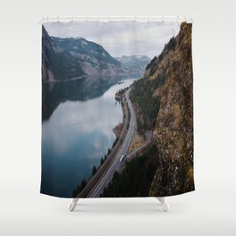Columbia River Gorge III Shower Curtain