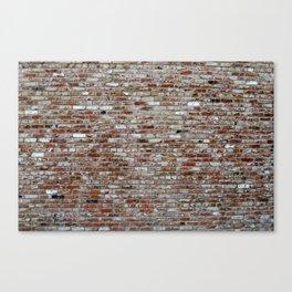 Stone Wall pattern Canvas Print
