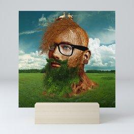 Eco Hipster Mini Art Print