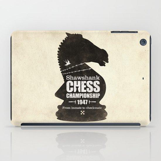 Shawshank Chess Championship iPad Case