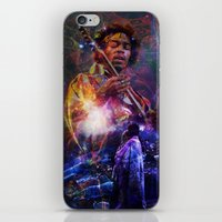woodstock iPhone & iPod Skins featuring Woodstock Kiss the Sky by ZiggyChristenson