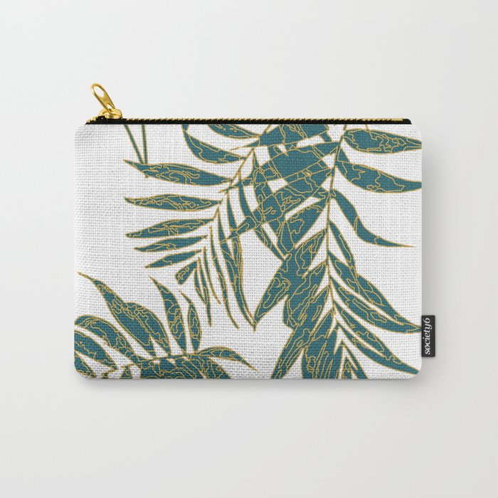 Fire Leaves Carry-All Pouch