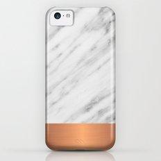 Carrara Italian Marble Holiday Rose Gold Edition Slim Case iPhone 5c